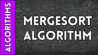 MergeSort Algorithm Run Time Analysis