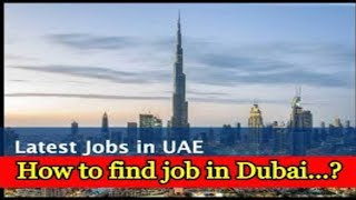 Visit to Employment job in Dubai