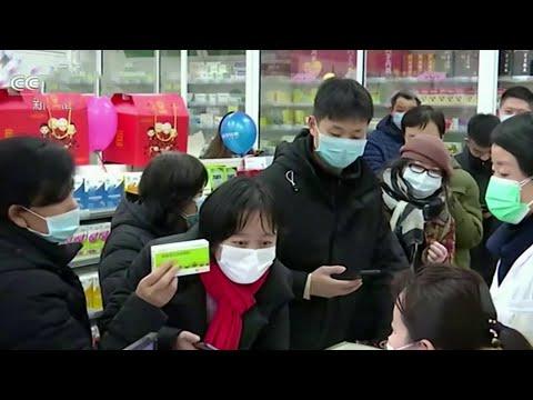В Китае до 17 возросло число скончавшихся от коронавируса нового типа.