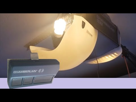 How To Reset Garage Door Opener >> How RESET Program new Battery Chamberlain LiftMaster Garage Door Opener (Replace Fix Remote ...