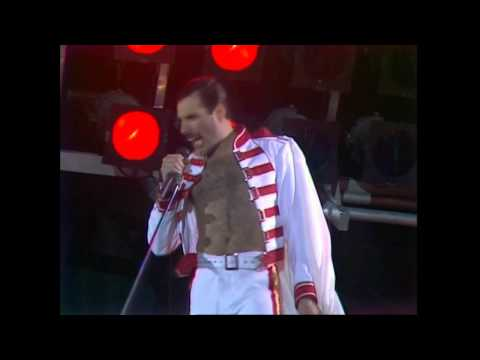 Queen  We Will Rock You  at Wembley 11071986
