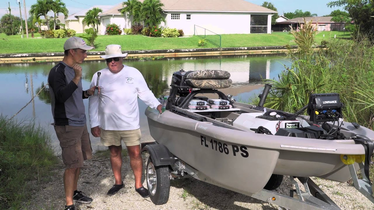 The worlds best 2 man small fishing boat twin troller x10 - Twin Troller X10 Review Testimonial James Cape Coral Florida Part 1 Youtube
