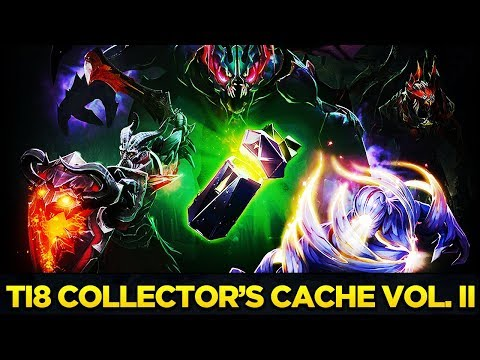 The International 2018 Collector's Cache Volume II Full Preview + Treasure Opening Dota 2 thumbnail