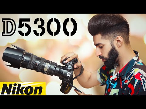 Nikon d5300 Photo & Video Test in Portrait Photography & Wedding Photography on Live Photoshoot