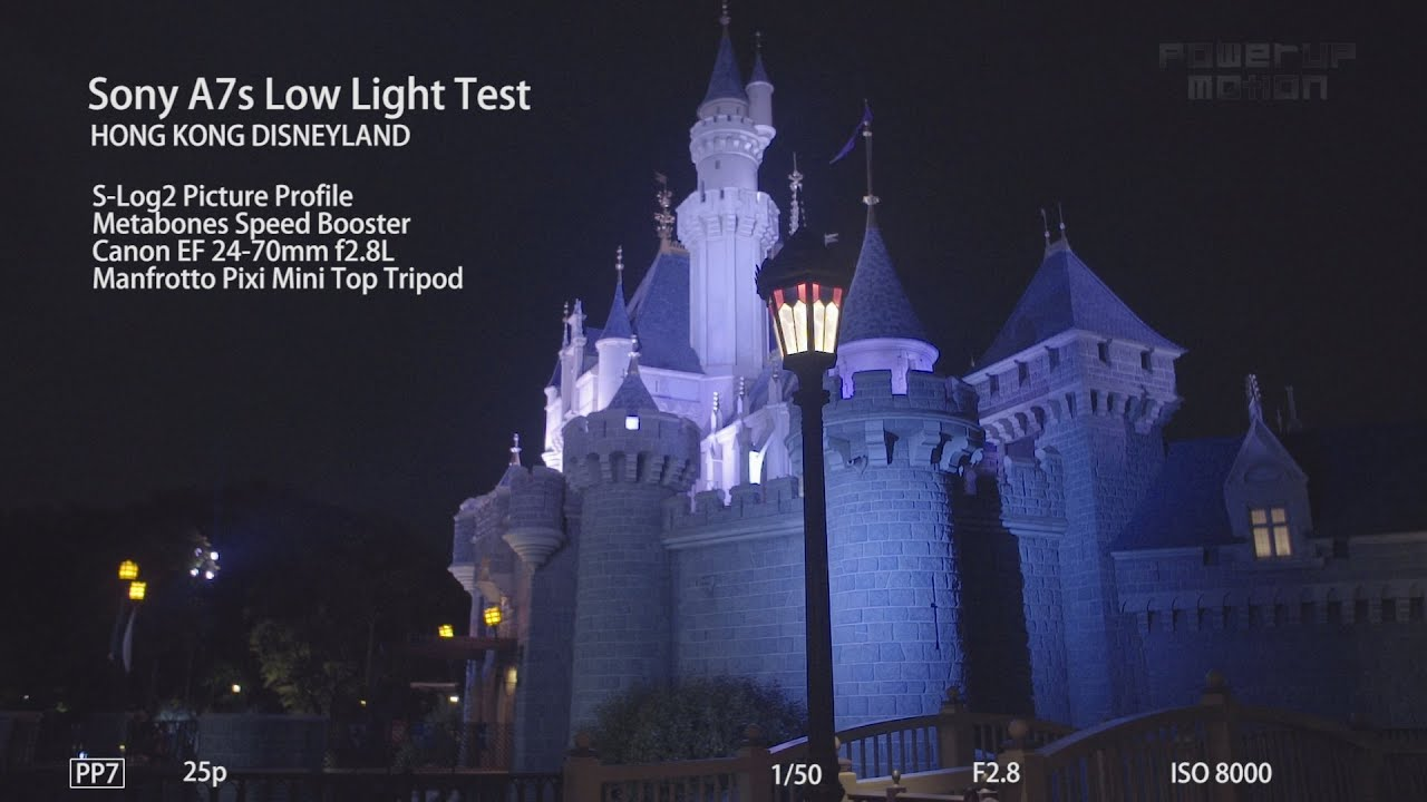 Disneyland Hong Kong - Sony A7s Low Light Test : sony a7s low light - azcodes.com
