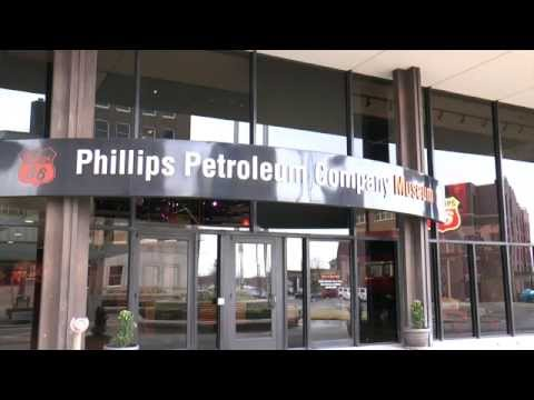 ON THE ROAD...PHILLIPS PETROLEUM COMPANY MUSEUM