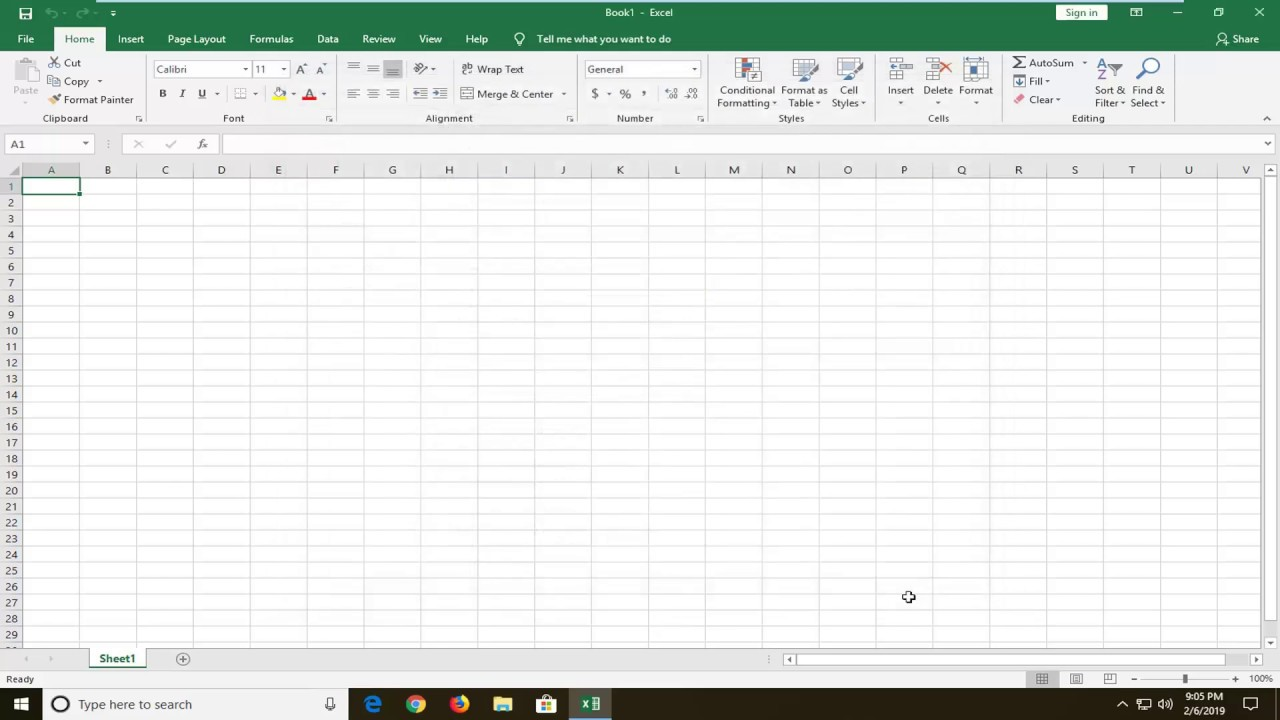 Excel Data Not Showing – Excel Worksheet Area Is Grayed Out or Blank FIX  [Tutorial]