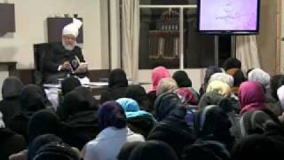 Gulshan-e-Waqfe Nau (Lajna) Class: 9th January 2010 - Part 4 (Urdu)