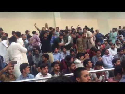university of gujrat (UOG) culture night 2016 (shanawar butt dance)