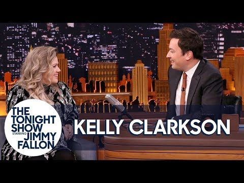 Kelly Clarkson and Jimmy Remember the First Time They Met on The Tonight Show