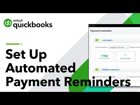 How To Set Up Automated Payment Reminders | QuickBooks Desktop 2020