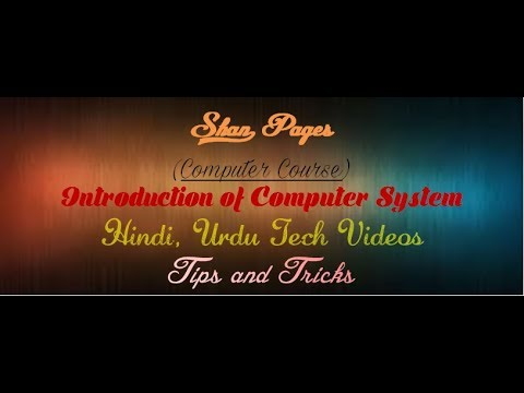 Magnetic Disk, Magnetic Tape, Compact Disk, DVD, Motherboard, Port - Computer Course 4