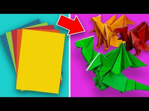 9 Easy Origami Paper Crafts Anyone Can Make