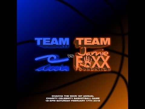 1st Annual ChaCha Charity Celebrity Basketball Game Hosted By Jamie Foxx