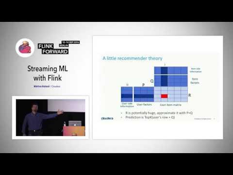 Flink Forward 2016: Márton Balassi - Streaming ML With Flink