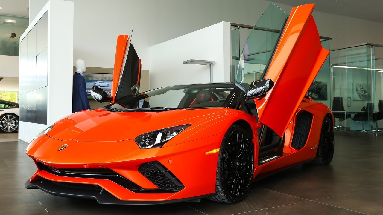 Design Build Of A Brand New 2019 Lamborghini Aventador S Roadster