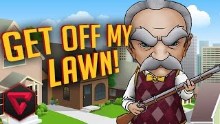ABUELO VS EXTRATERRESTRES  | GET OFF MY LAWN!