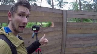 Vlog #45: Het wildkijkscherm op de Ginkel doet het!