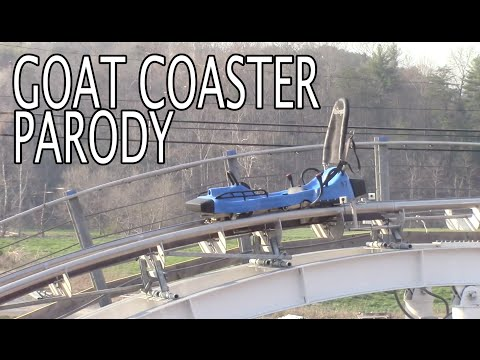 Coaster Parody: The Goat Coaster at Goats on the Roof Pigeon Forge