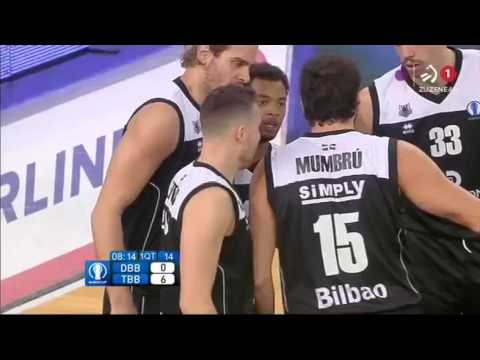 2015-11-25; Temporada regular, jornada 7; Bilbao Basket 95 - Telekom Baskets Bonn 80