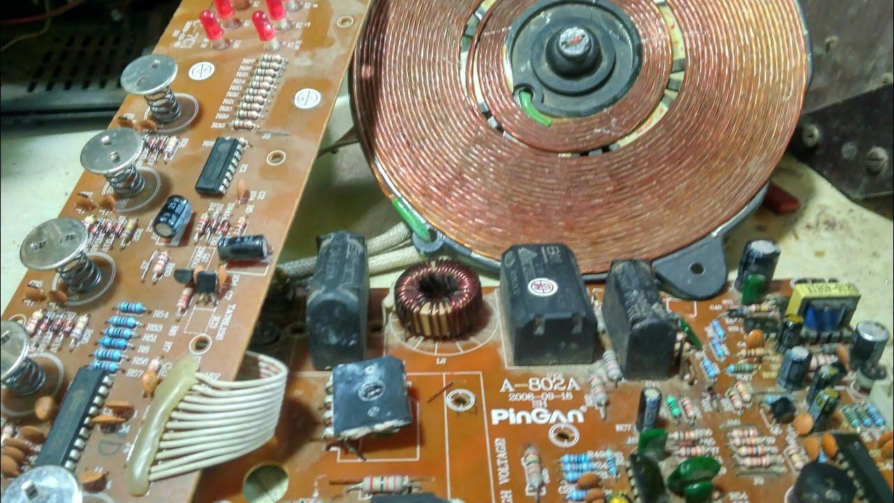 Prestige Induction Cooker Circuit Diagram Lace Sensor Wiring Strat Repair With Basic Bajaj E3 E7 E9