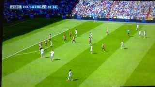 REAL MADRYT Vs. Athletic Bilbao 2-0 (45'+1' C.Ronaldo) [01.09.2013] 720p