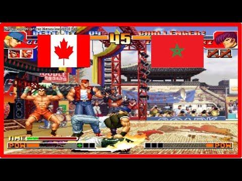 Kof 97 - chenguang0000 (canada) vs kisame hoshigaki (marocco) Fightcade