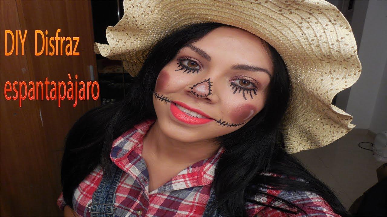 Disfraz casero de espantapajaro de halloween youtube - Disfraz halloween casero ...