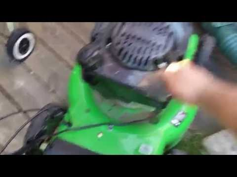 Lawn mower shuts off after starting