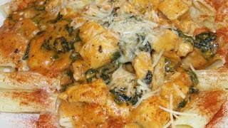Chiciken Florentine, Tomato Basil Cream Sauce Pasta 1/2 Chef John The Ghetto Gourmet