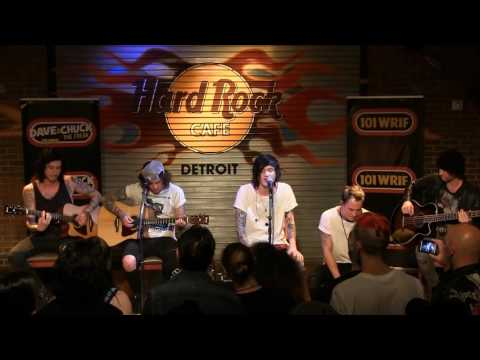 "Asking Alexandria performing ""Here I Am"" (Acoustic)at the WRIF Rock Girl Finals"