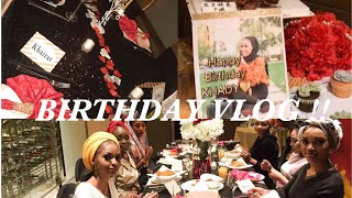 BIRTHDAY VLOG!!