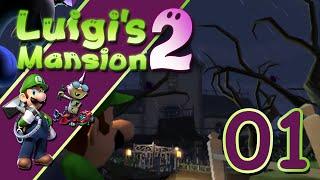 Luigi's Mansion 2 épisode 1: Le cauchemar commence