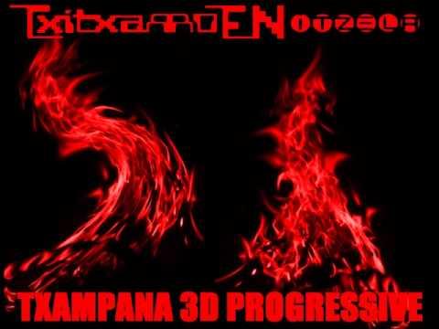 TxiTxaRRo - Dj Iñigo Txampaña - 3D Progressive (Año2002)