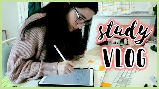 Mañana de organización, estudio y algunos tips · STUDY VLOG | Christine Hug