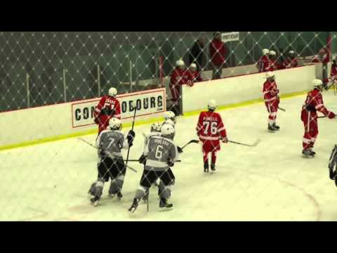 EXHIBITION GAME - Czech Knights vs Detroit Red Wings AAA - 1