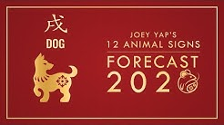 2020  Animal Signs Forecast: DOG [Joey Yap]