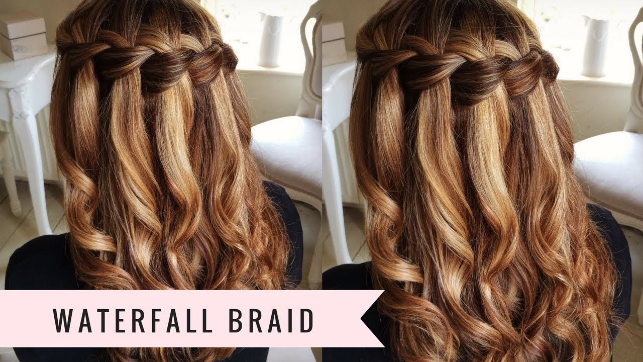 Waterfall Braid by SweetHearts Hair Design  vohairblog