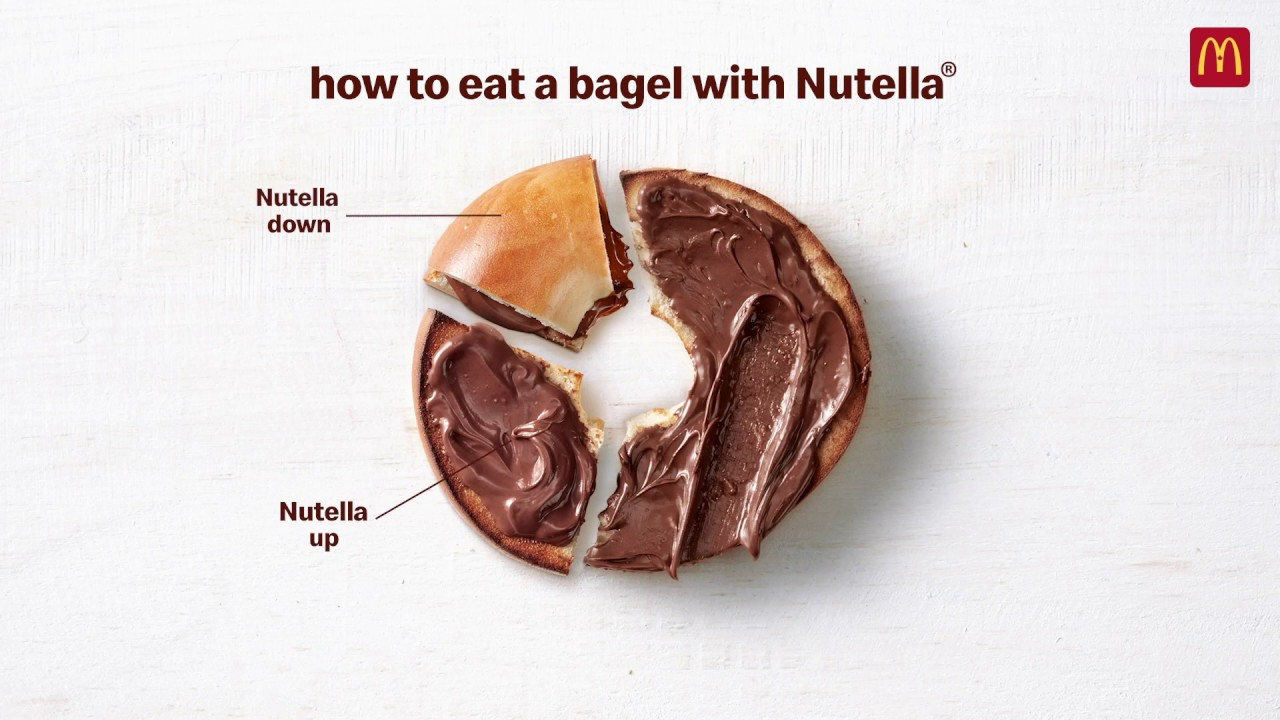 McDonald's Canada Now Has Nutella Bagels On Their Menu - Narcity