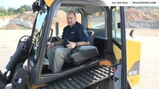 Volvo MCT135C Tracked Skid Steer - Interior Features