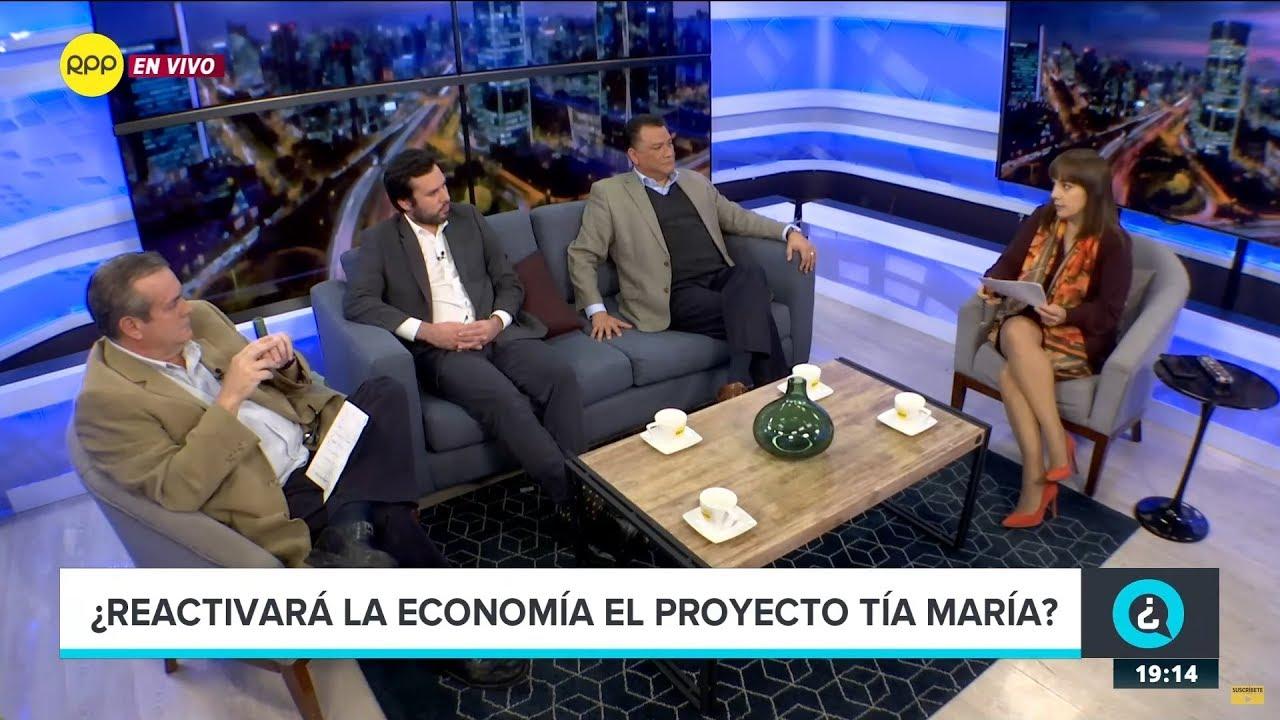 ¿Reactivará la economía el proyecto Tía María?