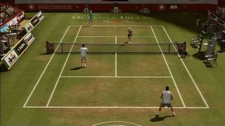 Top Spin 3 Xbox 360 Gameplay - Grass Court