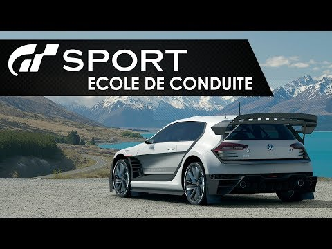 GRAND TURISMO SPORT : L'école de course | GAMEPLAY FR #1