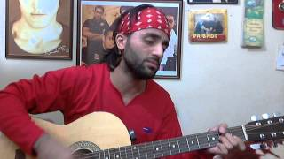My first ever Pashto song Zindagi - Shafiq Mureed (Cover)