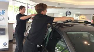 How to Install a VW Bike and Surf Rack(Watch as VW Santa Monica Parts Manager, Trevor, demonstrates how to install a VW bike rack. Please comment below if you have any questions., 2016-06-03T01:15:35.000Z)