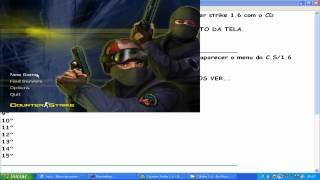 como instalar o Counter Strike 1.6 pelo CD