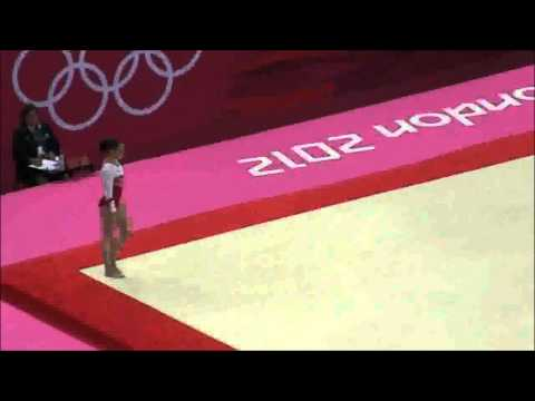 Aliya Mustafina - Radioactive Floor Exercise (Edit)