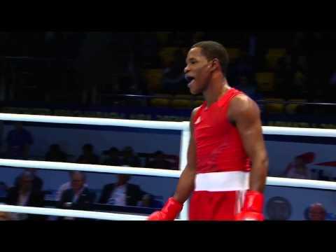 Men's Light Welter (64kg) - Semi Final - Yasnier LOPEZ  (CUB) vs Munkh-Erdene URANCHIMEG (MGL)