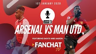 Arsenal vs Manchester United 2-0 Live Stream and Final Score