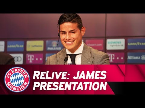 ReLive | Presentation of James Rodríguez